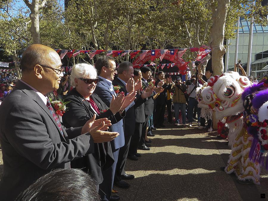南灣地區慶祝雙十國慶升旗典禮